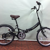 コンパクト折りたたみ自転車とInstagramの画像