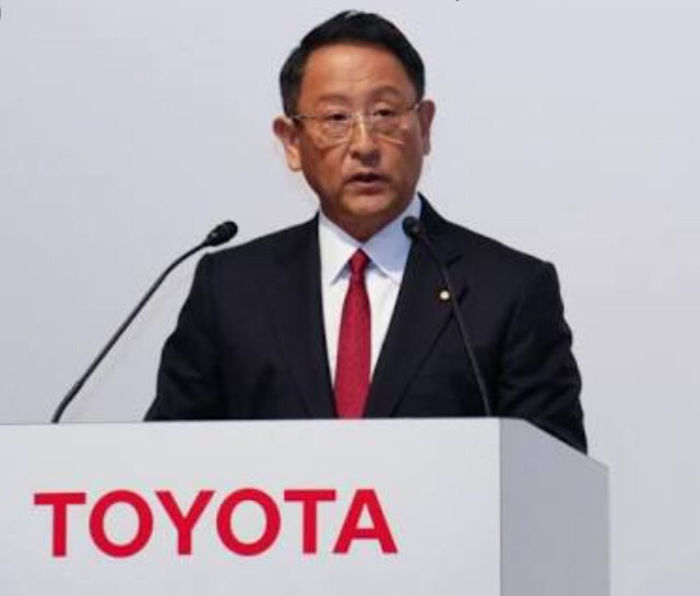 プレジデントの服装術 トヨタ自動車 豊田社長の「赤と黒」の記事より