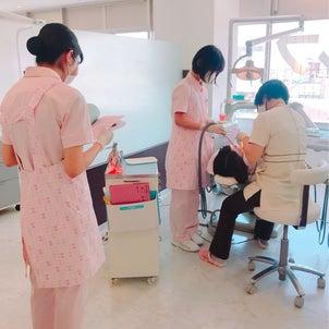 歯科衛生士校の実習生☆の画像