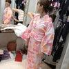 Sachikaが浴衣の着付けデビューします。の画像