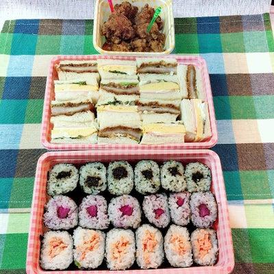 あきちゃんちの ラララ♪お弁当♪熱中症対策 3種の海苔巻き&サンドイッチ 編の記事に添付されている画像