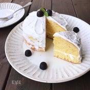 カルピスと材料3つ❤️NY風ネイキッドケーキ