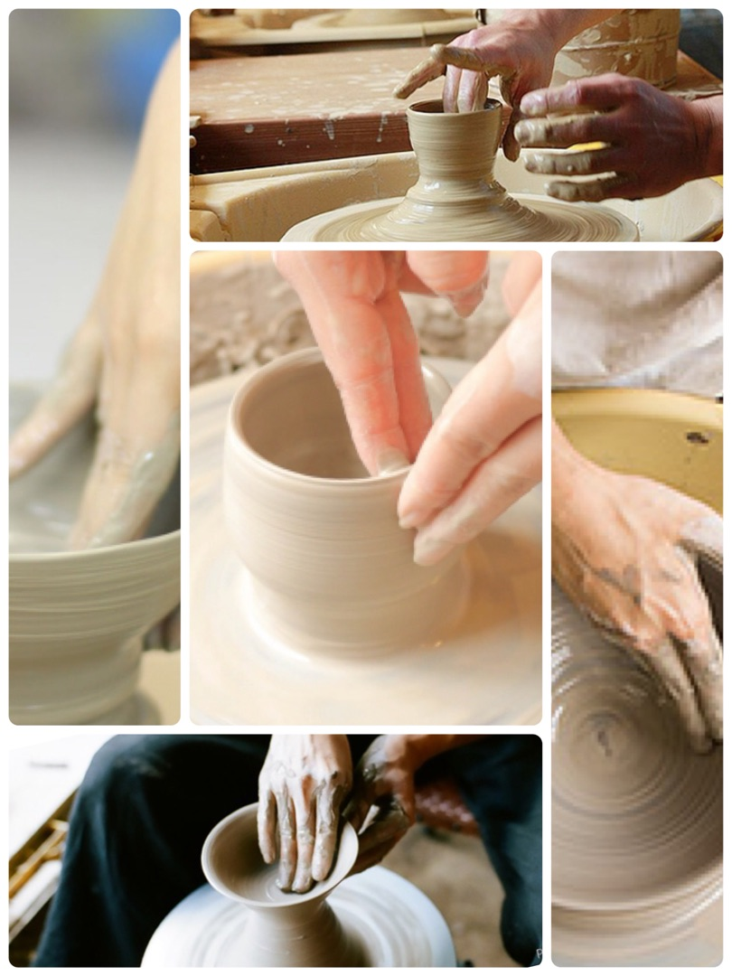 夏休み  伝統工芸体験!  陶芸教室    さをり織り