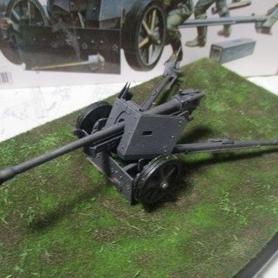 タミヤ ドイツ 75mm対戦車砲 ベース ウエザリングの記事に添付されている画像