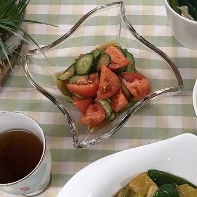 きゅうりとトマトのサラダで夏むくみ対策の記事に添付されている画像