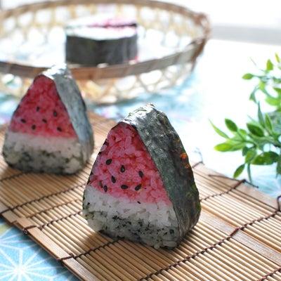 スイカの飾り巻き寿司の記事に添付されている画像