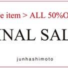 """【重要】"""" 名古屋より、遅れてきた「FINAL SALE 」開催のお知らせ。""""の記事より"""