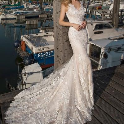 インポートウェディングドレス 2019年春婚 マーメイドドレス編の記事に添付されている画像