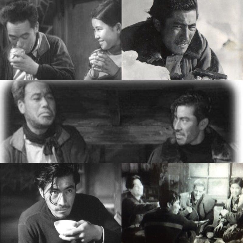 谷口千吉 「銀嶺の果て」 (1947)  ...