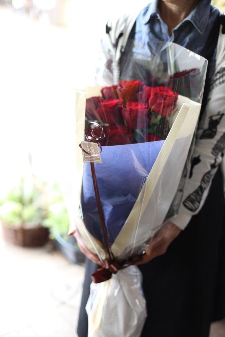 縦長タイプの花束