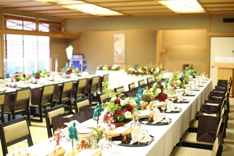 和風の結婚式会場