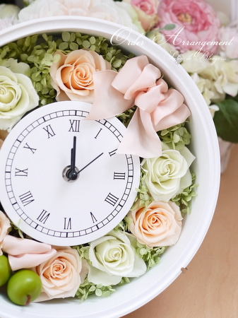 オーダーアレンジ♩~大人気の花時計~