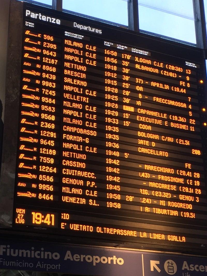 イタリア鉄道のあるある | ロー...