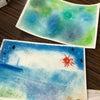 夏休みに音楽教室の子ども達とパステルアート遊びしました。の画像