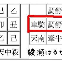 算命学の自習 綾瀬はるかさんと竹野内豊さんの記事に添付されている画像