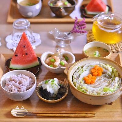 【豚バラ肉と白菜のミルフィーユ鍋】胃がホッコリ♡の記事に添付されている画像