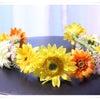夏らしい花冠♬の画像