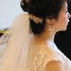 結婚式外注ヘアメイク/素敵な結婚式からDIYがプロ級の花嫁様の画像