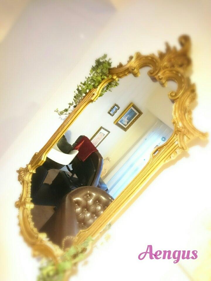 Aengusの100年以上前の鏡