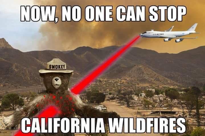 「指向性エネルギー兵器を使って、カリフォルニア」の画像検索結果
