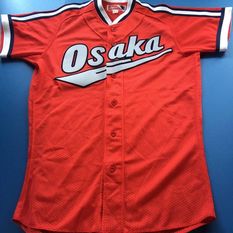 △大阪近鉄バファローズ 1999年ビジター 赤 レプリカ・ユニフォーム ...