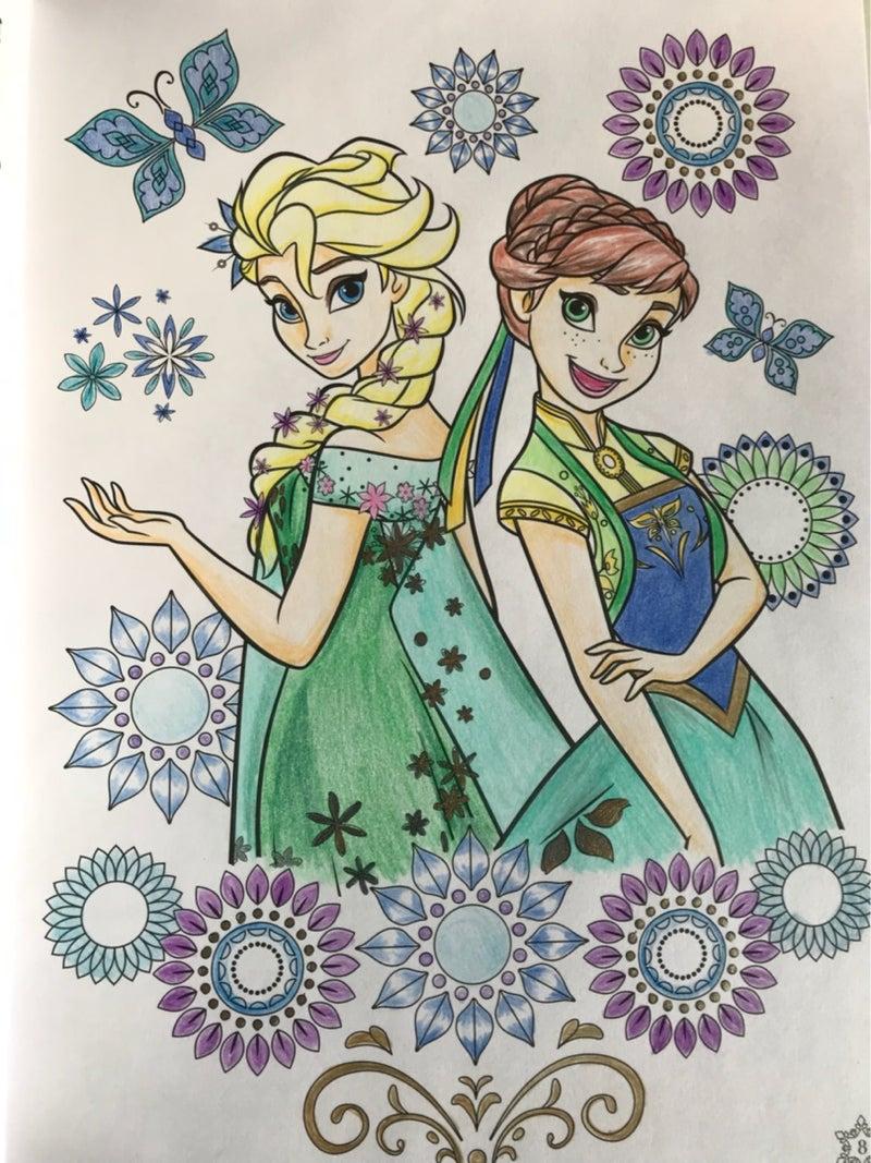 印刷可能無料 塗り絵 アナ雪 子供のための塗り絵ページ 無料着色画像 Hd