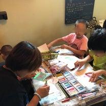 夏休み企画パステルアート体験会@ウララ1号の記事に添付されている画像
