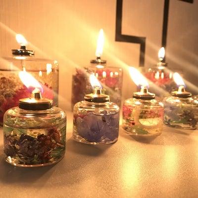 癒しのハーバリウムオイルランプを作ろう!の記事に添付されている画像