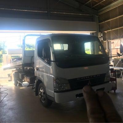 キャンター積載車がっつり整備の記事に添付されている画像