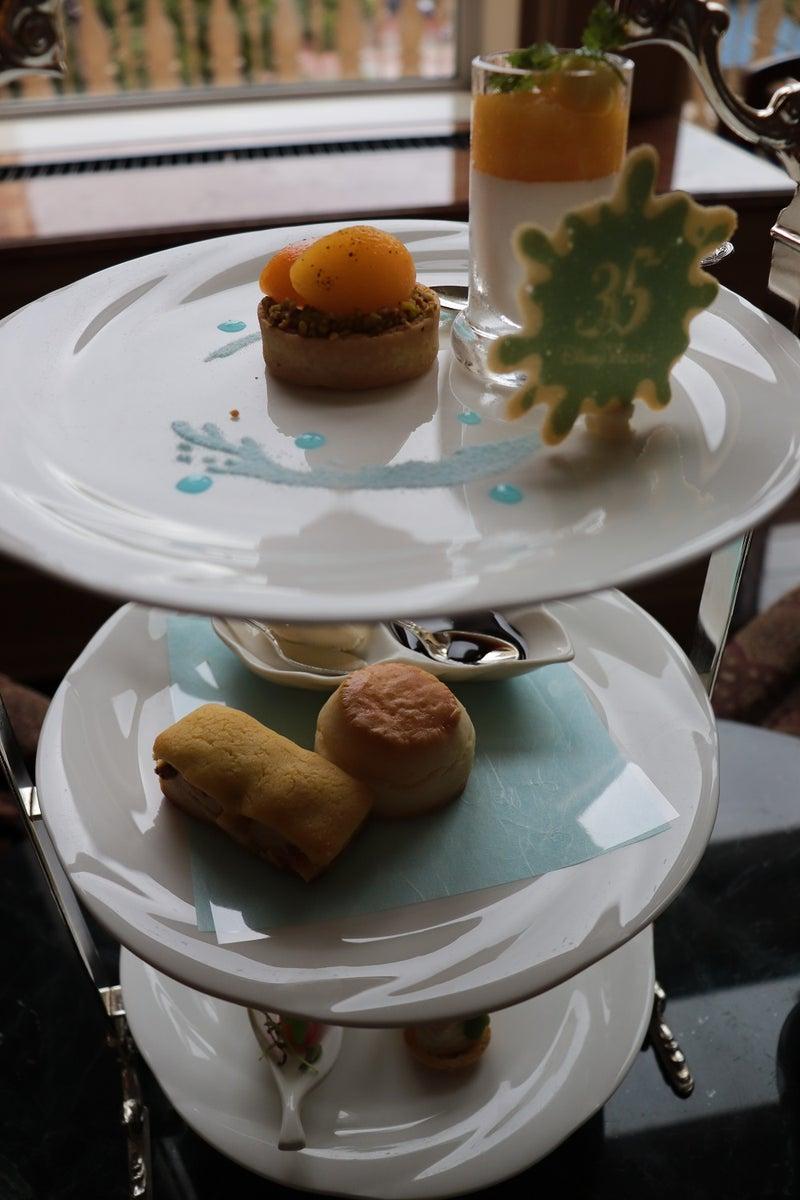 食レポ]夏祭り限定アフタヌーンティーセット 東京ディズニーランドホテル