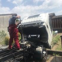 キャンター積載車整備グリスアップ編の記事に添付されている画像