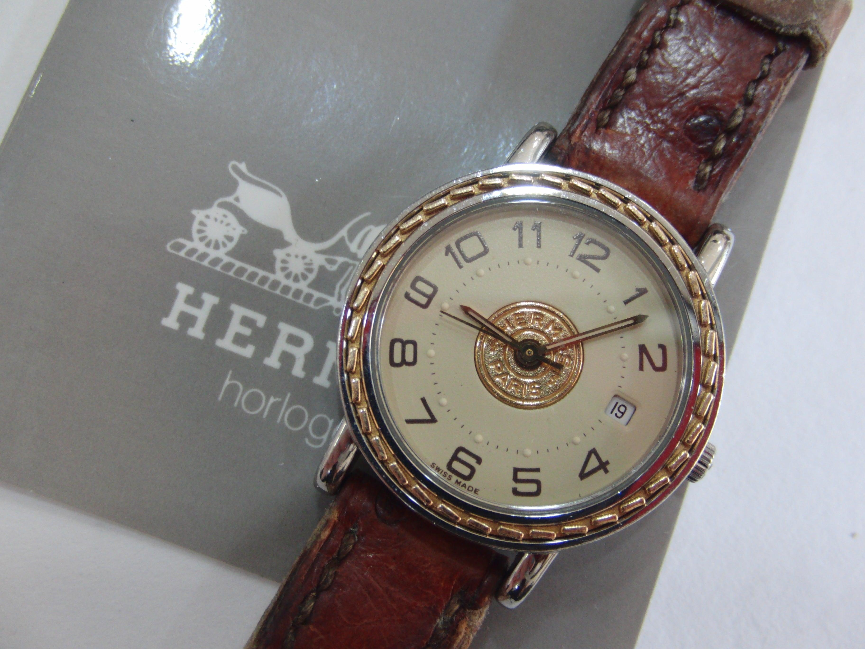 buy online e5b56 d2dcb エルメス セリエ 腕時計をお買取りしました。ファッション ...