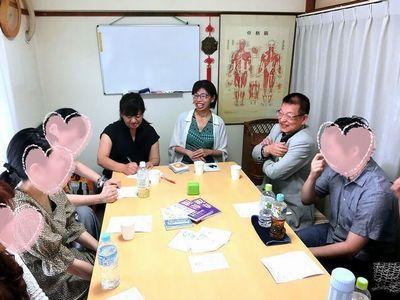 2018年7月22日:kokkoさんin博多・お話会の模様1