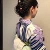 花火大会着付けとヘアセット事例の画像