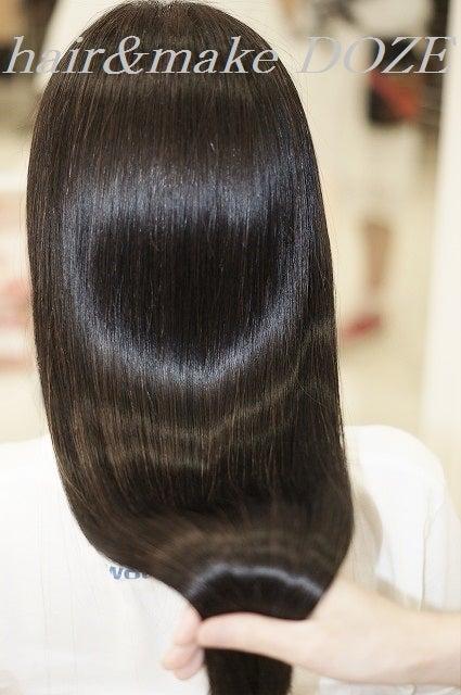 ♡のツヤ髪。