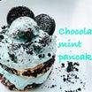 チョコミントパンケーキ今月までで販売終了になります。