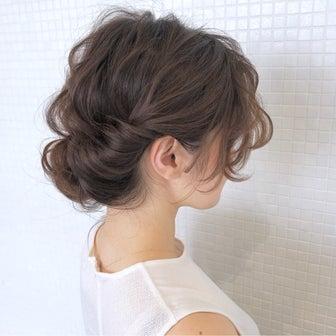 ミディアムヘアギブソンタックアレンジ hair arrange & hair set