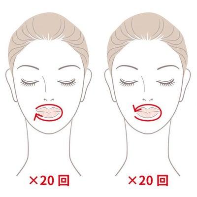 口輪筋の鍛え方の記事に添付されている画像