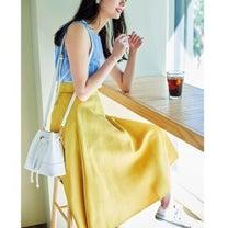【しまむらの新作スカート♡】華やか高見えコーデ♡の記事に添付されている画像