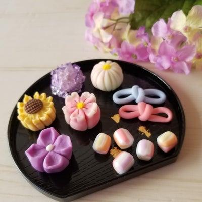 春夏の和菓子の記事に添付されている画像