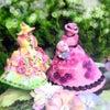 羊毛フェルト: 花フェルト®︎で作る姫系ドールのティーコージーの画像