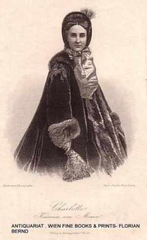 悲劇の皇后 シャルロッテ・フォン・ベルギエン | やまとなでしこめざします