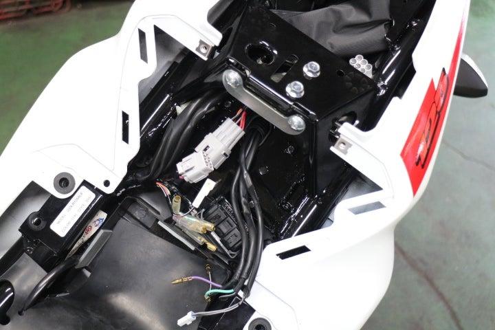 GSX-R125にフェンダーレスキット取り付け