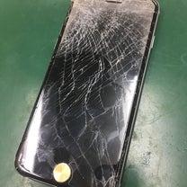 子供が投げて…iPhone6の画面割れ修理!佐倉市よりの記事に添付されている画像