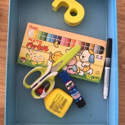 小学生のお道具箱収納のコツの記事に添付されている画像