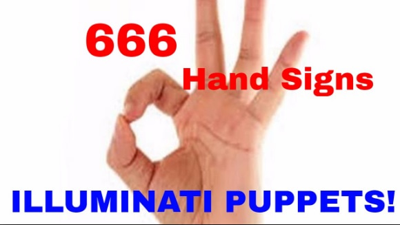 666 hand sign<br />