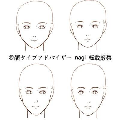 顔タイプ別 似合う髪型選手権★の記事に添付されている画像