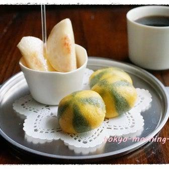 おうちモーニング その1814 ~ティンカーベルのパラソルミントたまごパン~