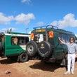 ケニアのアンボセリで…