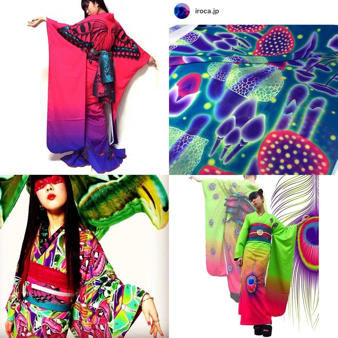 サイケデリックファッションの種類